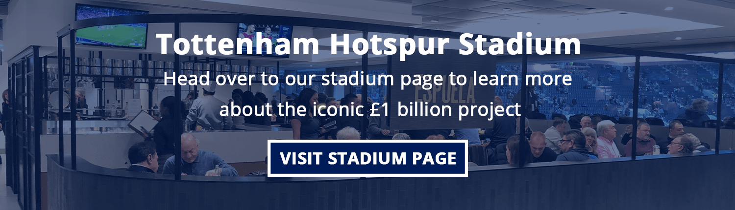 learn more about the Tottenham Hotspur Stadium