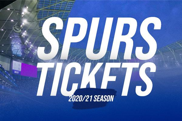 spurs tickets 2020/21