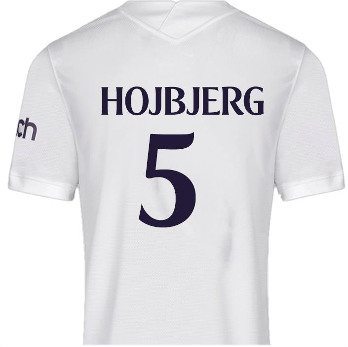 No.5 Hojbjerg - Spurs T shirt